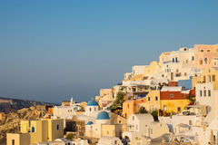 Beautiful Oia, Santorini Stock Photos