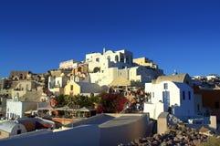 Beautiful Oia Santorini Greece Stock Photos