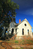 Beautiful old abandoned church Royalty Free Stock Photography