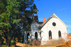 A Beautiful old abandoned church Royalty Free Stock Images