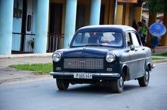 Beautiful old American car in Vinales, Cuba Stock Images