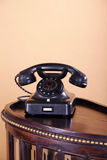 Beautiful old antique telephone Stock Photo