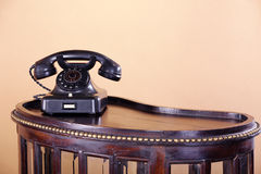 Beautiful old antique telephone Stock Image