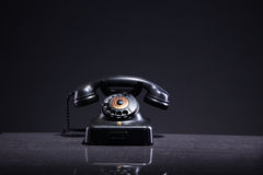 Beautiful old antique telephone Royalty Free Stock Photos