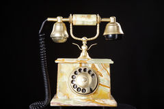 Beautiful old antique telephone Stock Photos