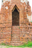 Beautiful old architecture historic of Ayutthaya in Thailand Stock Photos