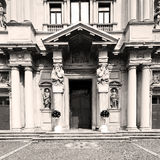 Beautiful old architecture in italy europe milan religion    and Royalty Free Stock Photography