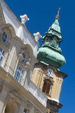 Beautiful old Art Nouveau building in Budapest, Hungary Stock Photography