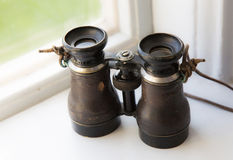 A beautiful old binoculars, Stock Photography