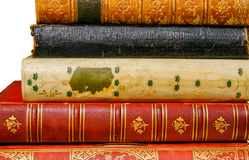 Beautiful old books Royalty Free Stock Photos