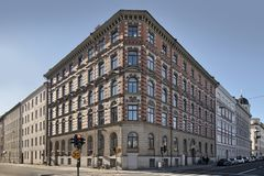 Building in central Stockholm Sweden stock photography