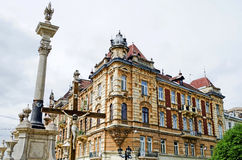 Beautiful old building in Lvov Stock Photography