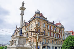 Beautiful old building in Lvov Stock Photo