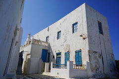 Beautiful old building in Mykonos,Greece. Royalty Free Stock Image