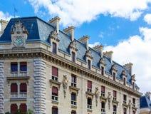 Beautiful old building in Paris Stock Image