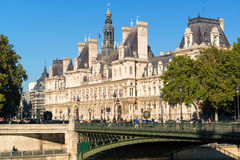 Beautiful old building in Paris Stock Photography