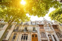 Buildings in Vichy city , France Royalty Free Stock Photography