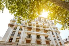 Buildings in Vichy city , France Stock Images
