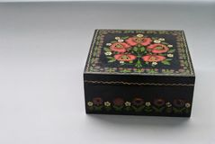 Casket. Beautiful old casket Royalty Free Stock Image