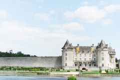 Beautiful Old Castle and grounds Stock Photography
