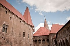 Beautiful old castle in Romania Royalty Free Stock Images