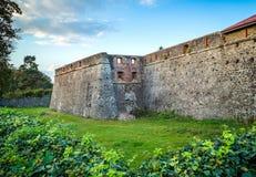Beautiful old castle in Uzhgorod. Beautiful old castle in Uzhgorod Royalty Free Stock Images