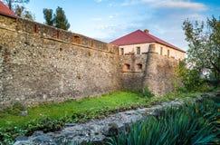Beautiful old castle in Uzhgorod. Beautiful old castle in Uzhgorod Royalty Free Stock Image