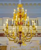 Beautiful old chandelier Stock Photos