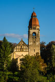 Beautiful old christian church-Czech Republic Royalty Free Stock Photography