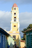 Beautiful old church in the colonial town of Trinidad Stock Photos