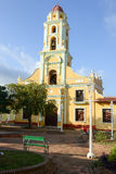Beautiful old church in the colonial town of Trinidad Royalty Free Stock Photo