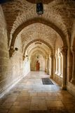 The Old Church. Beautiful old church at Jerusalem, one of the ancient heritage of Christianity Royalty Free Stock Image