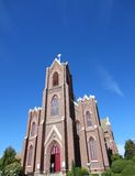 A beautiful old church. This is a very old church royalty free stock image