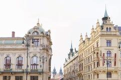 Beautiful old city of Prague Stock Image
