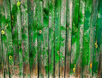 Beautiful old colorful wooden fence royalty free stock images