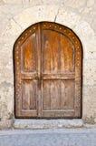 Beautiful Old Door Stock Photo