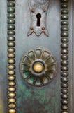 Beautiful old door Stock Images
