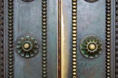 Beautiful old door Stock Photography