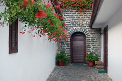 Beautiful old door Royalty Free Stock Images