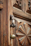 Beautiful old door handle Royalty Free Stock Photo