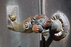 Beautiful old door knocker Royalty Free Stock Photography