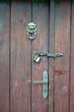 Beautiful old door knocker Stock Image