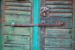 Beautiful old door knocker Stock Photography