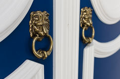 Beautiful old door knockers Stock Photography