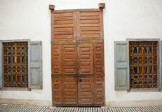 Old door in Marrakech, Morocco Stock Photo