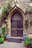 Beautiful Old Door to the Garden museum in London Stock Photos