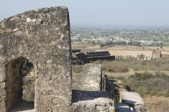 Rohtas fort Jhelum. A beautiful Old fort made by Sher Shah suri . It is located in Pakistan royalty free stock images