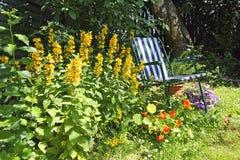 Beautiful, old garden Stock Photo