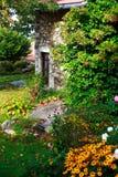 Beautiful old garden Stock Photo
