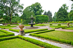 Beautiful old garden Royalty Free Stock Image